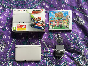 Limited Edition White Nintendo 3DS + Games = $250