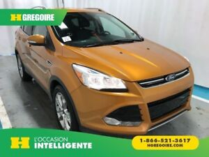 2016 Ford Escape Titanium 4WD GPS Cuir-Chauf Bluetooth USB/Camer