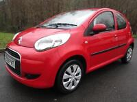 09/09 CITROEN C1 VTR 1.0 5DR HATCH IN RED (ONLY £30 A YEAR TAX)
