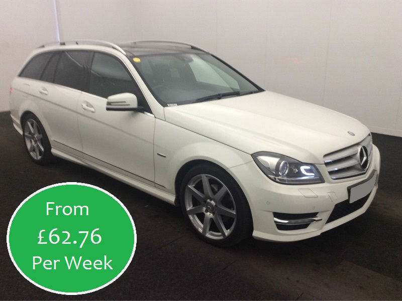 £269.87 PER MONTH MERCEDES C220 2.1CDI Sport Edition 125 7G-Tronic Estate AUTO