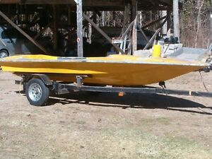 14ft. Race Boat and Trailer