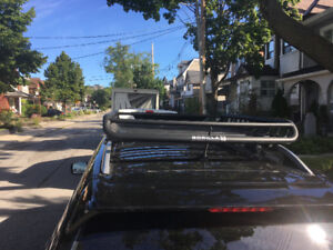 Subaru Forester  roof rack and cargo basket
