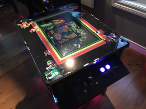 Cocktail Arcade | Custom Decals | LED Lighting