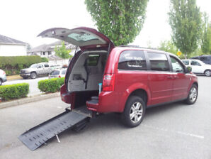 2010 Dodge Caravan with Wheelchair Conversion