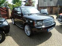 2008 58 REG Land Rover Range Rover Sport 2.7TD V6 Auto HSE