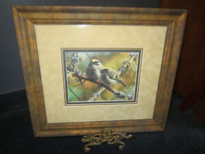 Carl Brenders and Robert Bateman Framed Limited Edition Prints