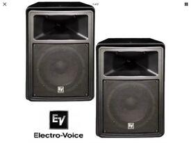 Pair of EV SX80 speakers