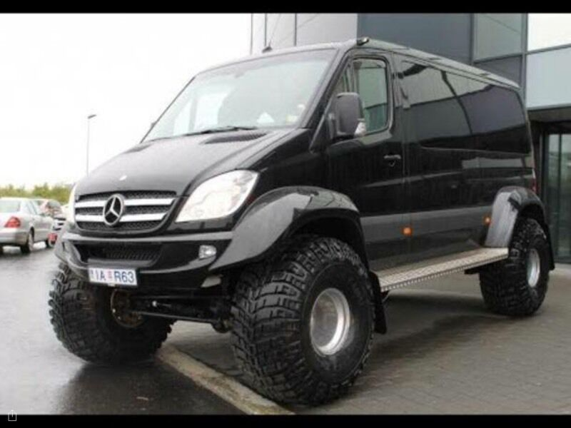 Mercedes sprinter 313 4x4 2011 4 wheel drive awd in for Mercedes benz 4wd van