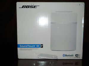 "new ""BOSE"" SOUNDTOUCH 10"