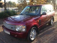 Land Rover Range Rover 3.0 TD6 HSE (red) 2003