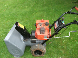 "8hp 24"" Craftsman snowblower"
