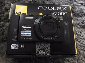 Nikon Coolpix S7000 Digital Camera