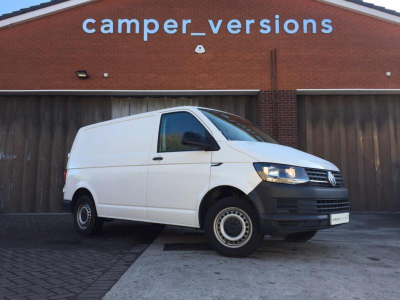 2016 vw t6 transporter ready to convert to campervan in just 4