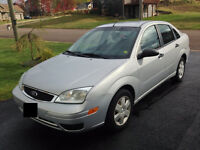 2007 Ford Focus Sedan, One Owner, Low KMs, incl Winter tires