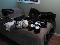 full set of hockey gear. med adult or xl junoir