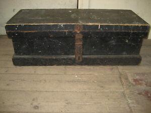 Antique Trunk / Tool Box