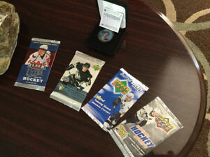 Sidney Crosby/Upper Deck sealed pack lot