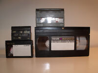 Convert your old family video tapes to DVD