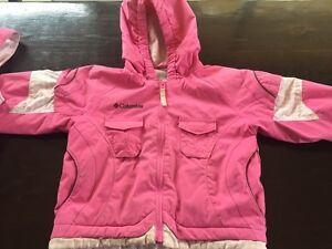 Girls 3T Columbia two piece snowsuit
