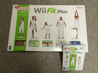 Wii Fit Plus w/software