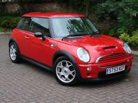 EXCELLENT EXAMPLE!!! 2003 MINI Hatch 1.6 COOPER S 3dr, HALF LEATHER, 1 YEAR MOT