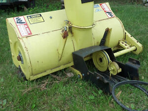 John Deere Snow Thrower / Blower Attachment Stratford Kitchener Area image 4