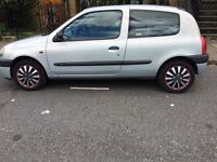 Renault 1999, 1.2 and only 64,000 mileage, full service history.