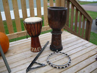 2 Djembe and Puller Bar