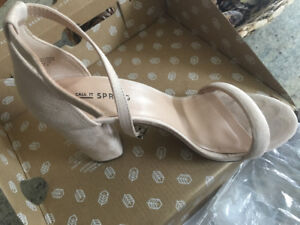 Beige sandals in perfect condition