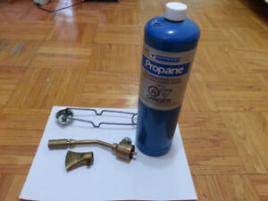 Brand new mastercraft propane torch kit never been used
