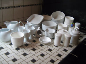 White China-EGG CUPS  etc. .$2.each