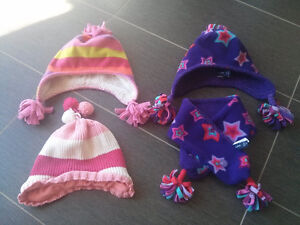 4T Girl's Clothes, Hats & Mittens - Queen's Park / Mississauga