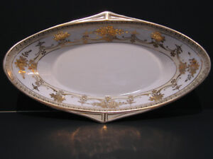 ANTIQUE NIPPON SMALL OBLONG DISH