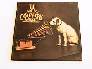 RCA 60 YEARS OF COUNTRY MUSIC 1922-1982 2 LP Vinyl  NM