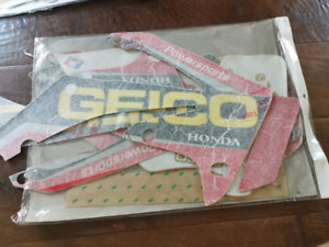 Honda crf 250 / 450 2009 -2012 Geico graphics kit
