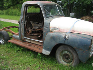 1950`s Chevrolet 1/2 ton, rat rod, restore, or parts, sell/trade London Ontario image 2