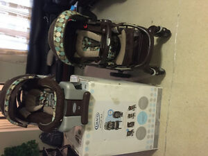 Graco Stylus Travel System with sungride 35 infant car seat