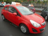 Vauxhall Corsa S ECOFLEX (flame red) 2012