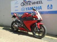 2011 YAMAHA YZF-R125 RED, ** HPI CLEAR **