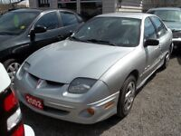 2002 Pontiac Sunfire 4 Door Sedan