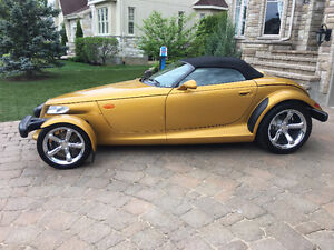 2002 CHRYSLER / PLYMOUTH PROWLER INCA GOLD 13,500 KM