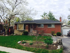 3 Bdrm House- Great Location in Guelph- Utilities Included