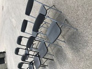 Folding Chairs ( 8 individuall $5 each or as LOT $30)