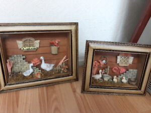 Wall Decor Victorian style! Or decorative pieces!!