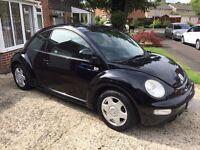 2001 VW Beetle, 2.0L Petrol, Leather interior!