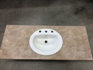 Sinks and countertops
