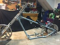 DNA pro street with mso rolling chassis harley