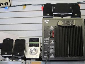 Logitech Z-5500 Computer Surround System Complete!