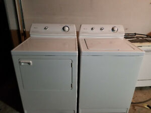 Maytag white top load washer electric dryer 320 both machines