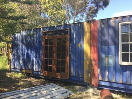 Shipping Container - Granny Flat project